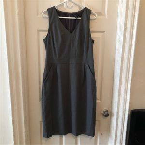 NWOT J Crew Tall grey dress